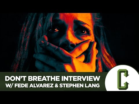 Don't Breathe Director Fede Alvarez & Stephen Lang Interview