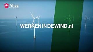 Werken in de wind