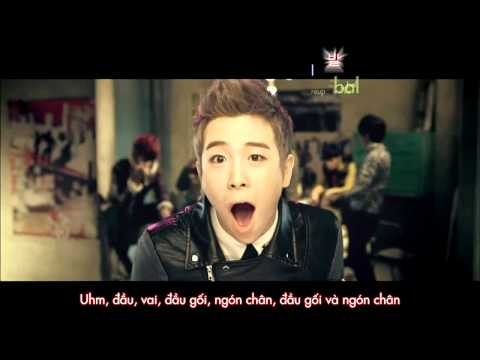 [vietsub + Kara] Block B - Nallina Mv (blockbvn) video