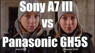 Sony A7III vs Panasonic GH5S - Skintones, AF, Lowlight, Picture Profile