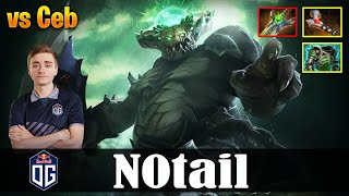 N0tail - Underlord MID | vs Ceb (Sand King) | Dota 2 Pro MMR Gameplay