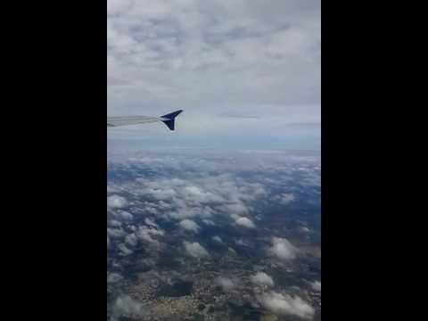 Hyderabad(RGIA) To Kolkata(CCU) Indigo Airlines take off and climbing..