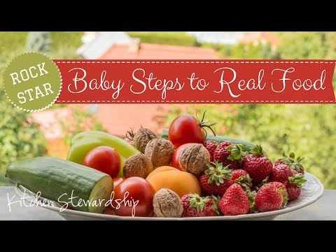 Baby Steps to Real Food (KS Connect *Plus* 2nd edition)