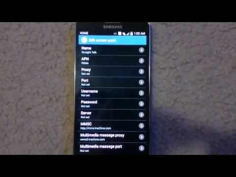 Note 3 - 4g LTE - Straight Talk APN Settings & Speed Test - Samsung