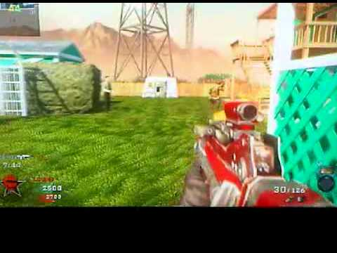 Playing Black Ops Multiplayer Online video