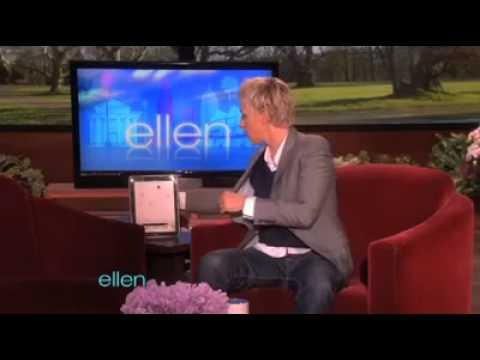 Ellen DeGeneres already has an iPad 2!