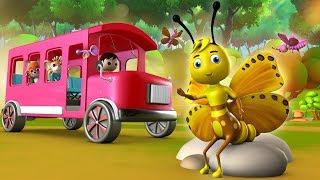 Titli Udi Bus Pe Chadi Hindi Rhymes - Hindi Balgeet   Hindi Nursery Rhymes for Children   तितली उड़ी