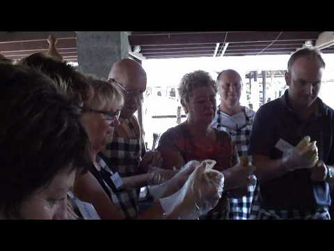 Short video of the classes at the Bumbu Bali Cooking School conducted by the renowned chef Heinz Von