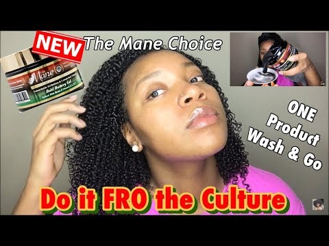 NEW The Mane Choice Do It FRO The Culture Bold Buttery Gel | One Product Wash & Go Series Epi. 7