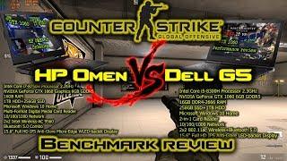 CS:GO Benchmark HP Omen 15 vs Dell G5 15 | can the Omen be best gaming laptop under $1000?