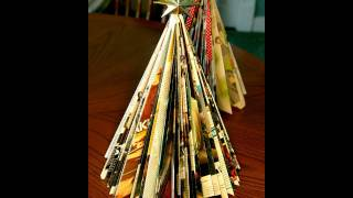 "How to make a ""Magazine"" Christmas tree (tutorial)"