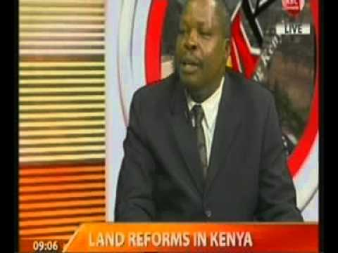 Insight On Land Reforms In Kenya - Interview With Mr Odenda Lumumba video
