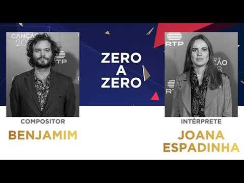 Zero a Zero (45'') - Benjamim | Festival da Canção 2018