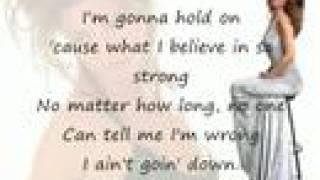 Watch Shania Twain I Aint Goin Down video