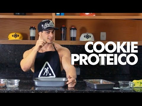 MONSTRO NA COZINHA - Cookie Proteico