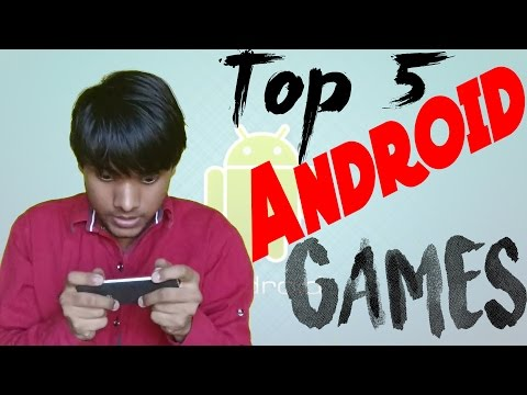 Best Android Games 2016 | Top 5 | Hindi