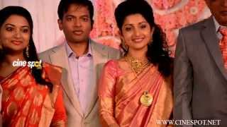 Meera Jasmine marriage reception video