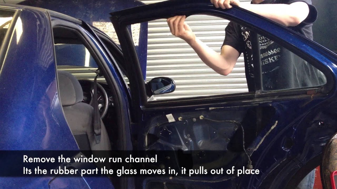 Peugeot 406 Rear Door Stripdown And Removal Youtube