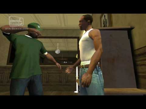 GTA San Andreas Mission #27 - The Green Sabre (HD)