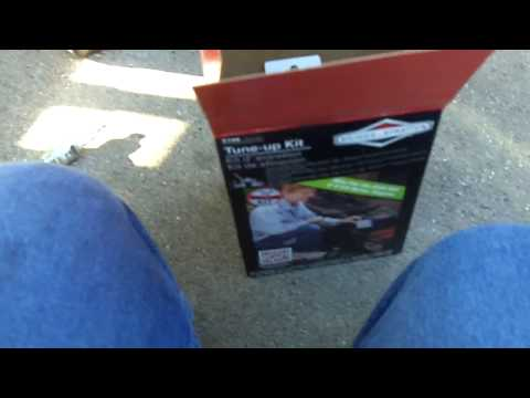 Product Review: Briggs and Stratton Tune Up Kit
