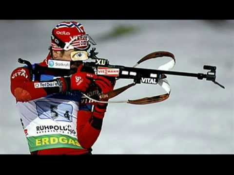 Ole Einar Bjoerndalen biathlon Norvège