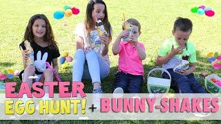 HOW TO MAKE BUNNY-SHAKES 🐰 OUR EASTER with THE BRATAYLEYS