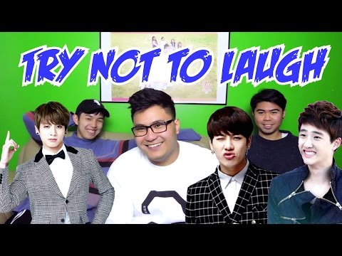 K-POP TRY NOT TO LAUGH OR SMILE CHALLENGE