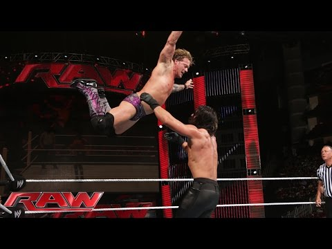 Chris Jericho vs. Seth Rollins: Raw, July 28, 2014