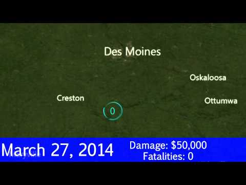 March 2014 U.S. Tornados [Experimental]