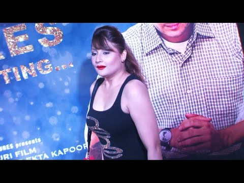 Urvashi Dholakia in a tight sleeveless top at the success party...