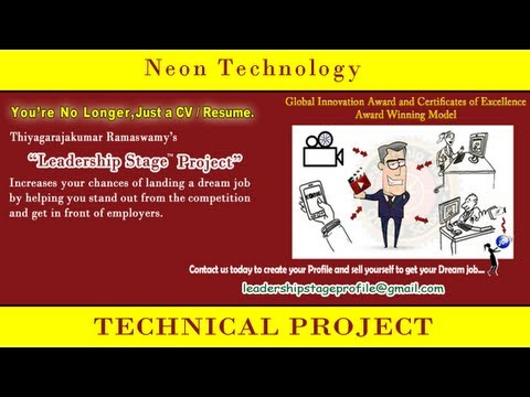 Leadership Stage (Education to Dream Employment) System Project - Neon Technology
