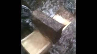 Homemade Sluice Box for Gold