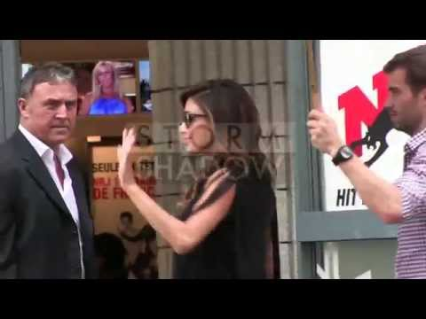 Nicole Scherzinger promotion at NRJ radio station in Paris