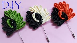 D.I.Y. Kanzashi Lapel - Father