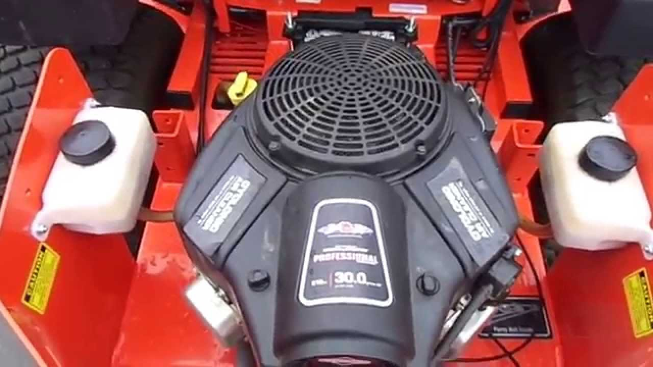 61 Quot Outlaw Bad Boy Pro Series 30 Hp Briggs Cyclonic Engine