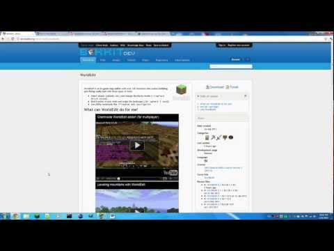 How to install WorldEdit and WorldGuard into your Bukkit Server [HD]