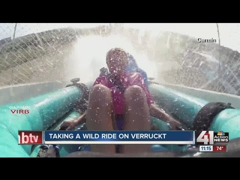 SCHLITTERBAHN: World's Tallest Water Slide - Verruckt - Now Open to Public