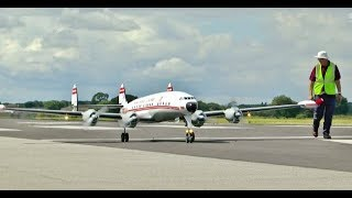"MASSIVE 1/6 SCALE RC LOCKHEED SUPER CONSTELLATION ""STAR OF AMERICA"" (21ft SPAN) ELVINGTON # 2 - 2017"