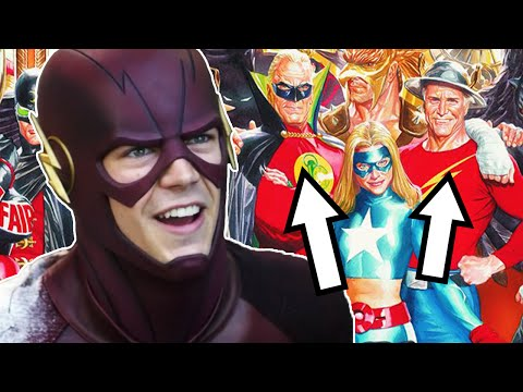 The Flash Season 3 Justice Society of America Trailer Breakdown