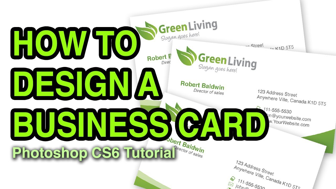 How to Make Business Cards With Adobe Photoshop Elements - mandegar.info