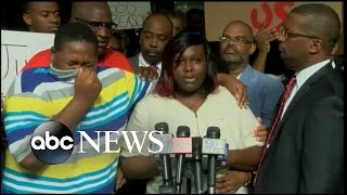 Louisiana Cop Shooting | Victim's Son Breaks Down