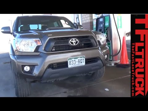 2015 Toyota Tacoma Real World MPG Test: Is the EPA MPG Correct?