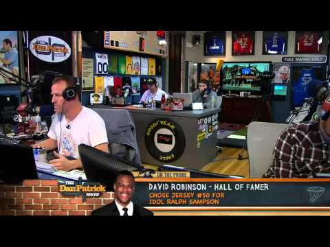 David Robinson on the Dan Patrick Show 5/15/13