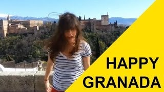 Pharrell Video - Pharrell Williams - HAPPY (We are from GRANADA, SPAIN) #HAPPYDAY