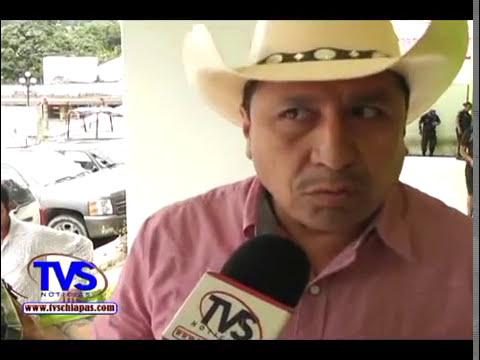 TVS Chiapas.- Presidente municipal contento primer informe de gobierno, Tecpatan Chiapas