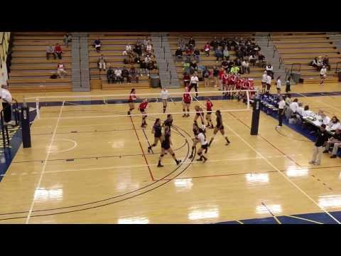 Raptors Volleyball at Nationals - Match 1 vs. Ridgewater College