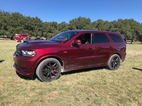 2018 Dodge Durango SRT Drive Modes