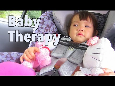 Baby Therapy - August 17, 2014 - itsJudysLife Daily Vlog