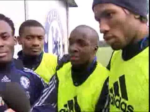 Lassana Diarra Speaks English