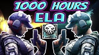 What 1000 HOURS of ELA Experience Looks Like - Rainbow Six Siege